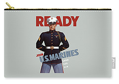 Us Marines - Ready Carry-all Pouch by War Is Hell Store