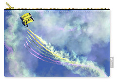 Us Navy Seals Colorful Parachute Jump Carry-all Pouch