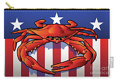 Usa Crab Carry-all Pouch