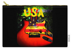 Usa Guitar Music Carry-all Pouch