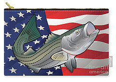 Usa Rockfish Striped Bass Carry-all Pouch