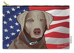 Usa Silver Lab Carry-all Pouch