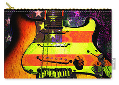 Usa Strat Guitar Music Carry-all Pouch