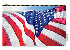 Usa,american Flag,rhe Symbolic Of Liberty,freedom,patriotic,hono Carry-all Pouch by Jingjits Photography