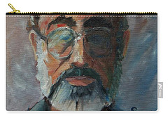 Carry-all Pouch featuring the painting Used To Be Me by Gary Coleman