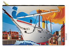Uss Annapolis In Ego Alley Carry-all Pouch