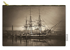 Uss Constitution Boston Vintage Carry-all Pouch