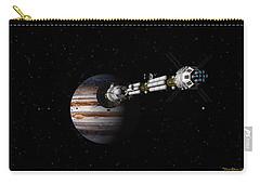 Uss Savannah Approaching Jupiter Carry-all Pouch