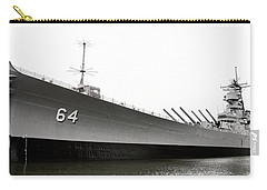 Uss Wisconsin - Port-side Carry-all Pouch by Christopher Holmes