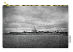 Carry-all Pouch featuring the photograph Uss Yorktown by Sandy Keeton