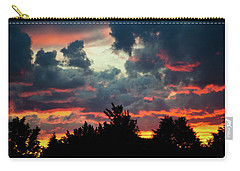 Carry-all Pouch featuring the photograph Utah Sunset by Bryan Carter