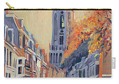 Carry-all Pouch featuring the painting Utrecht Dom Tower by Nop Briex