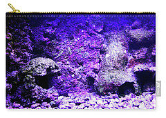 Carry-all Pouch featuring the photograph Uw Coral Stone 2 by Francesca Mackenney