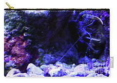 Carry-all Pouch featuring the digital art Uw Coral Stone by Francesca Mackenney