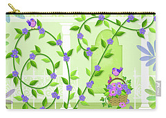 V Is For Vine And Veranda Carry-all Pouch