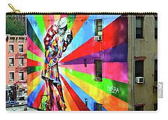 V - J Day Mural By Eduardo Kobra # 2 Carry-all Pouch