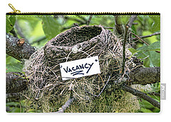 Vacancy Unfortunately Gone Bad Carry-all Pouch