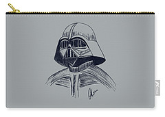 Vader Sketch Carry-all Pouch by Chris Thomas