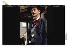 Val Kilmer As Doc Holliday Tombstone Set 1993-2015 Carry-all Pouch