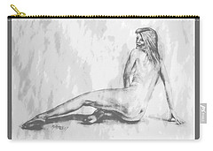 Valentina... Carry-all Pouch by Edgar Torres