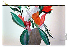 Valentine By Bill O'connor Carry-all Pouch by Bill OConnor