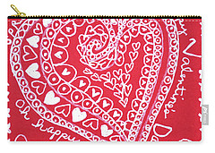 Valentine Heart Carry-all Pouch