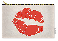 Valentine Kiss Carry-all Pouch