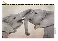 Valentine's Day Elephant Carry-all Pouch