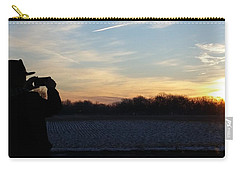 Valentines Sunrise Carry-all Pouch
