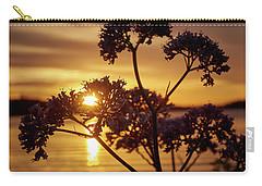 Valerian Sunset Carry-all Pouch by Jouko Lehto