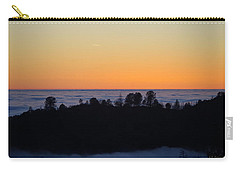 Valley Fog Sunset Carry-all Pouch