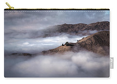 Valley In The Clouds Carry-all Pouch by Brad Grove