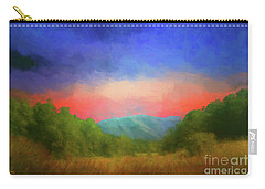 Valley In The Cove Carry-all Pouch by Geraldine DeBoer