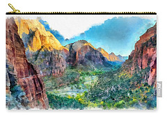 Valley Of Colours. Carry-all Pouch