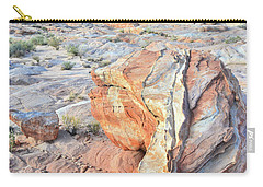 Valley Of Fire Alien Boulder Carry-all Pouch