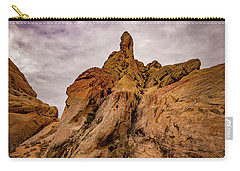 Valley Of Fire At Rainbow View Carry-all Pouch by Janis Knight