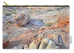 Valley Of Fire Boulders Carry-all Pouch
