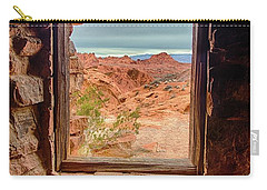 Valley Of Fire Window View Carry-all Pouch