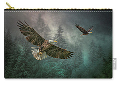 Valley Of The Eagles. Carry-all Pouch by Brian Tarr