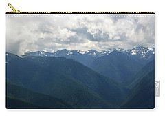 Carry-all Pouch featuring the photograph Valley Of The Olympics by Tikvah's Hope