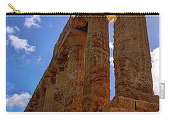 Valley Of The Temples Iv Carry-all Pouch by Patrick Boening