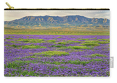 Valley Phacelia And Caliente Range Carry-all Pouch