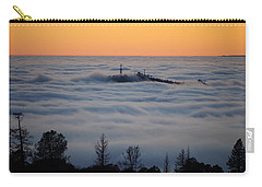Valley Sunset Fog Carry-all Pouch