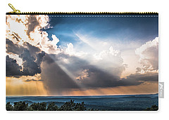 Carry-all Pouch featuring the photograph Valley Views by Parker Cunningham