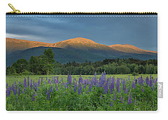 Valley Way Lupine Sunset Carry-all Pouch