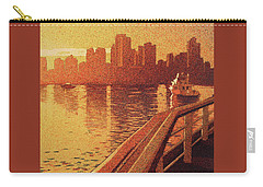 Carry-all Pouch featuring the painting Vancouver Morning- Bc by Ryan Fox
