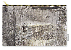 Carry-all Pouch featuring the painting Vanished Landscapes by Nancy Kane Chapman
