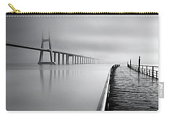 Carry-all Pouch featuring the photograph Vanishing by Jorge Maia