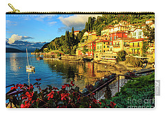 Varenna Italy At Sunset Carry-all Pouch
