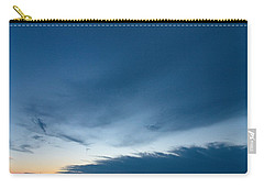 Carry-all Pouch featuring the photograph Variations Of Sunsets At Gulf Of Bothnia 4 by Jouko Lehto
